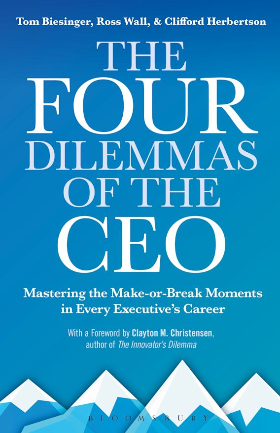 The Four Dilemmas of the CEO cover