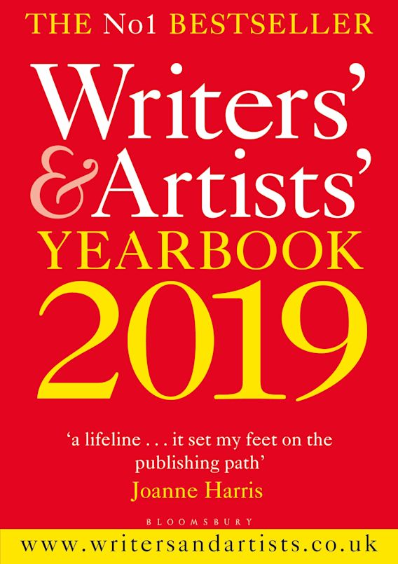 Writers' & Artists' Yearbook 2019 cover