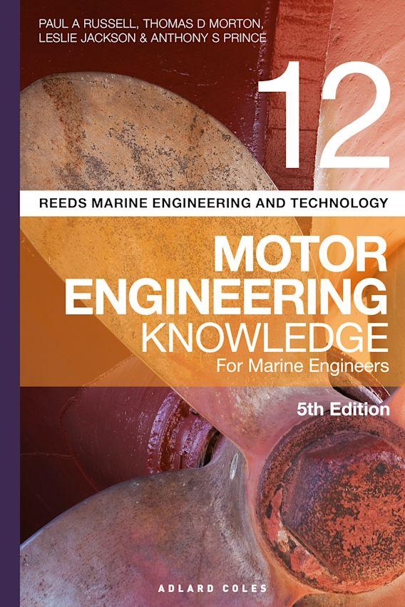 Reeds Vol 12 Motor Engineering Knowledge for Marine Engineers cover