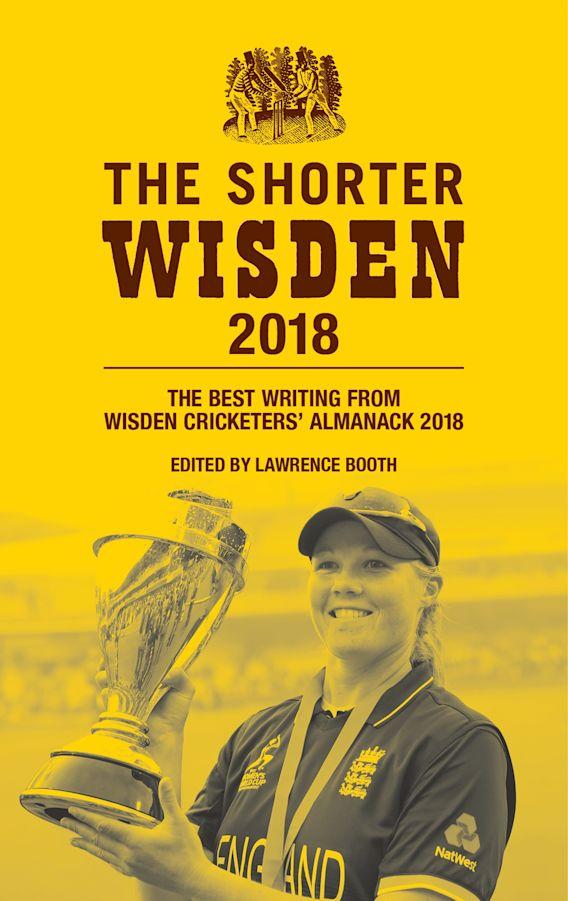 The Shorter Wisden 2018 cover