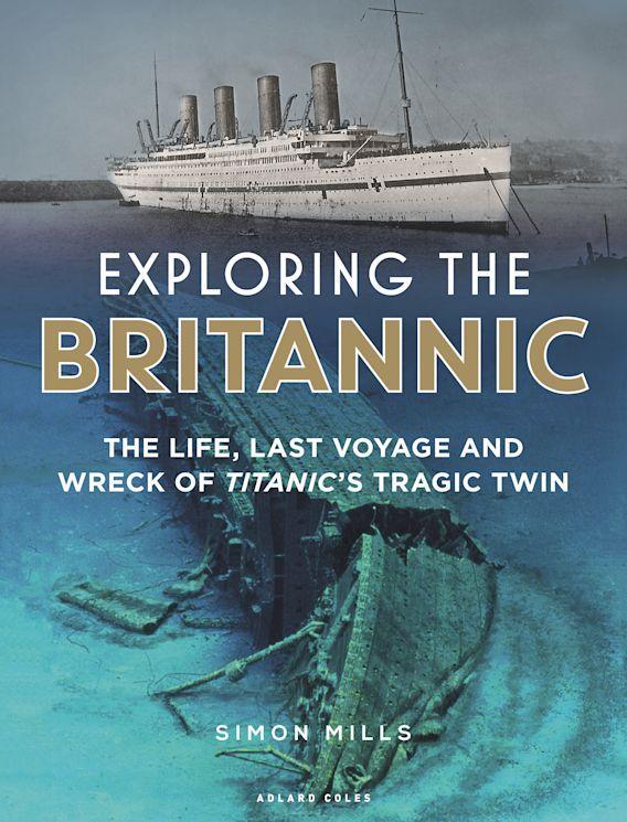 Exploring the Britannic cover