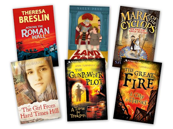 Historical Fiction Mixed Pack of 6 Grey cover