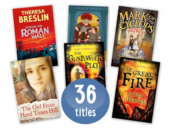 Historical Fiction Class Pack of 36 Grey cover