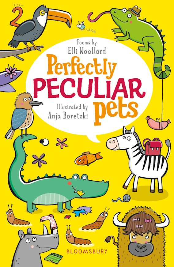 Perfectly Peculiar Pets cover