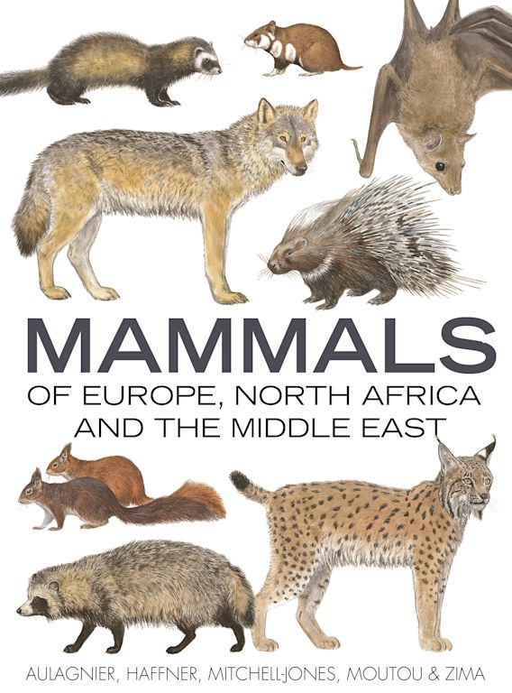 Mammals of Europe, North Africa and the Middle East cover