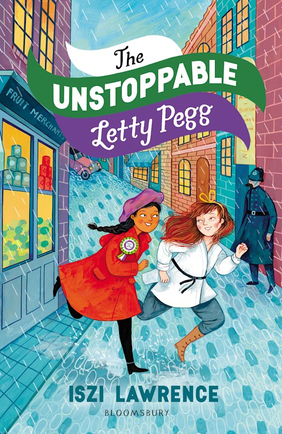The Unstoppable Letty Pegg cover