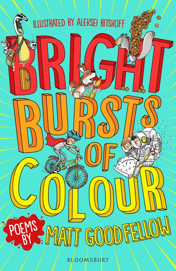 Bright Bursts of Colour cover