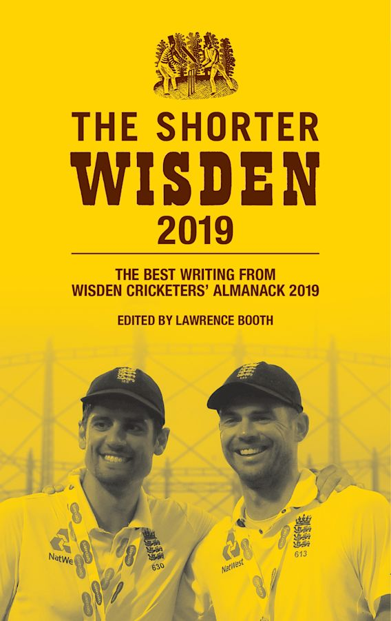 The Shorter Wisden 2019 cover