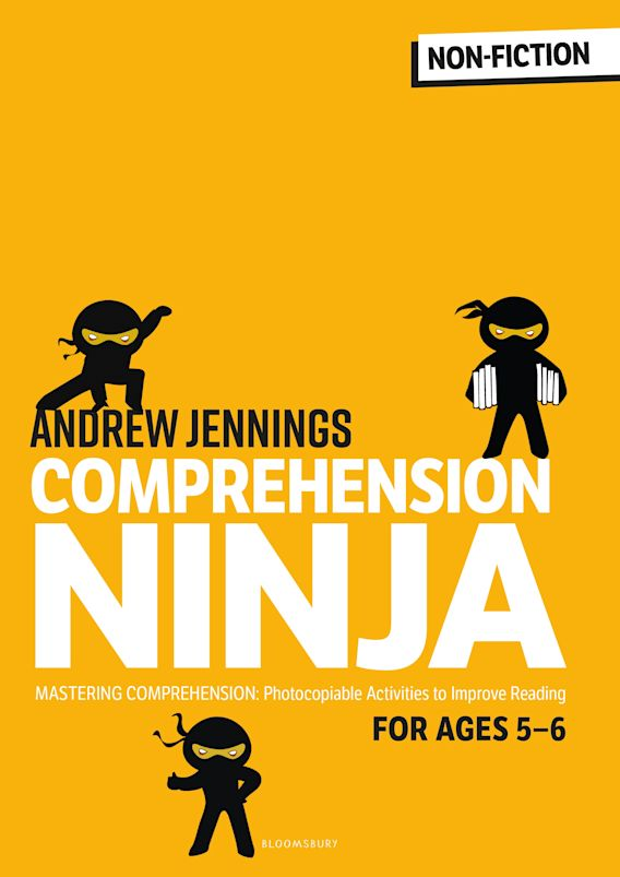 Comprehension Ninja for Ages 5-6: Non-Fiction cover