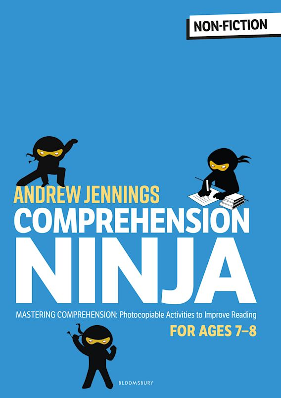 Comprehension Ninja for Ages 7-8: Non-Fiction cover
