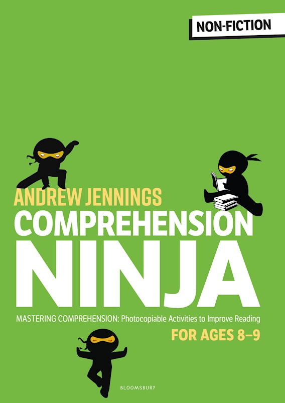 Comprehension Ninja for Ages 8-9: Non-Fiction cover