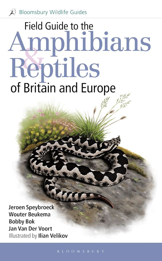 Field Guide to the Amphibians and Reptiles of Britain and Europe cover
