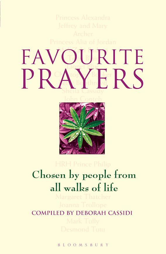 Favourite Prayers cover