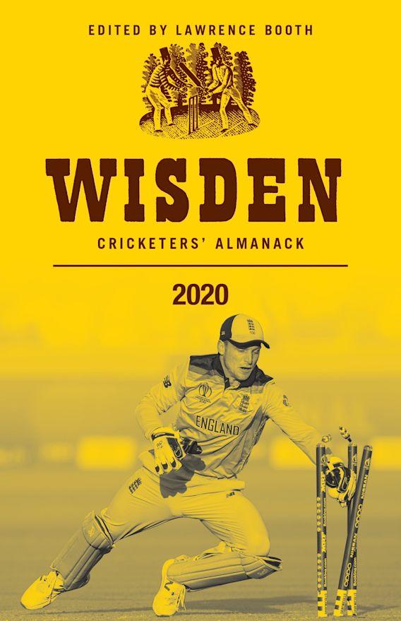 Wisden Cricketers' Almanack 2020 cover