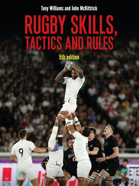 Rugby Skills, Tactics and Rules 5th edition cover