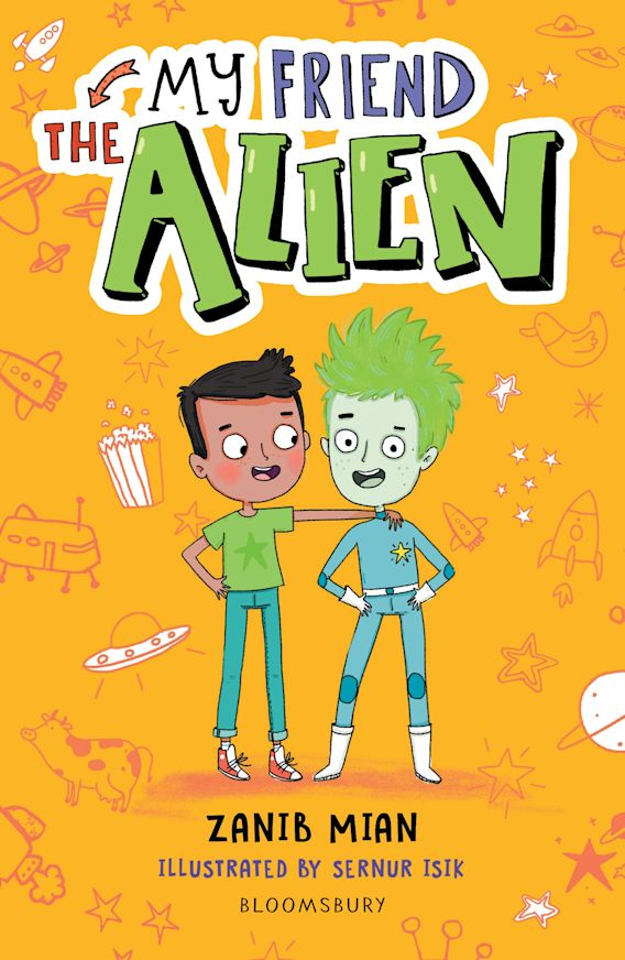 My Friend the Alien: A Bloomsbury Reader cover