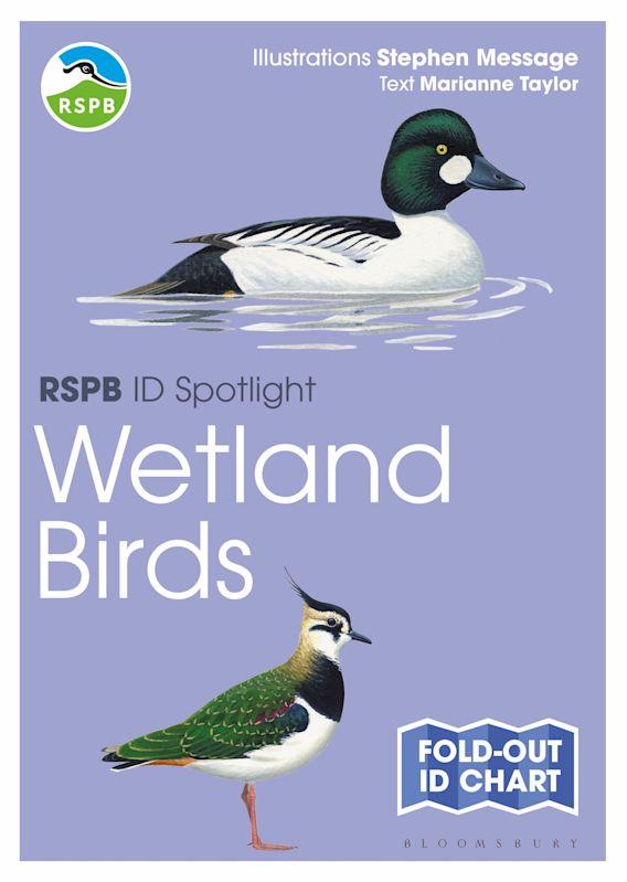 RSPB ID Spotlight - Wetland Birds cover