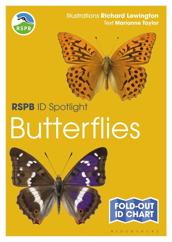 RSPB ID Spotlight - Butterflies cover