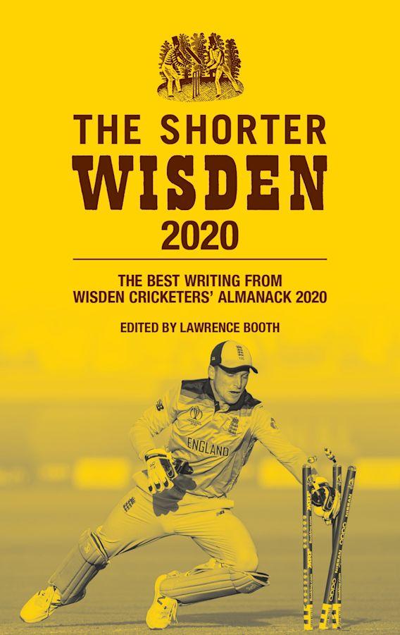The Shorter Wisden 2020 cover
