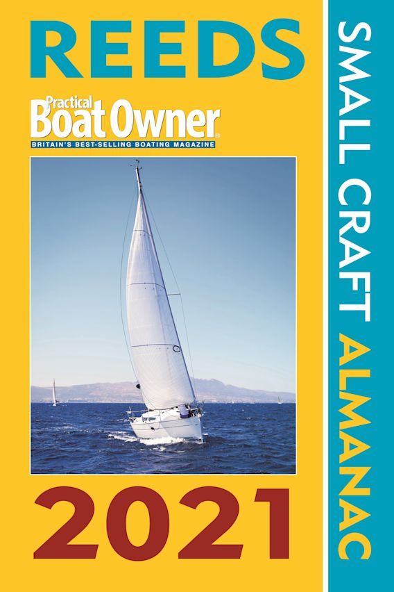 Reeds PBO Small Craft Almanac 2021 cover