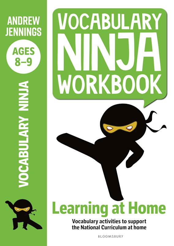 Vocabulary Ninja Workbook for Ages 8-9 cover