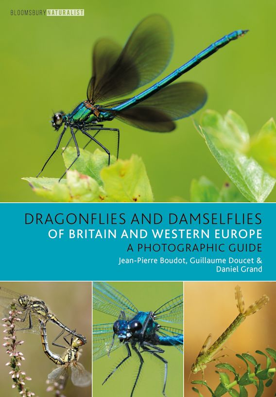 Dragonflies and Damselflies of Britain and Western Europe cover