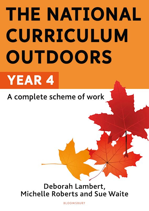 The National Curriculum Outdoors: Year 4 cover