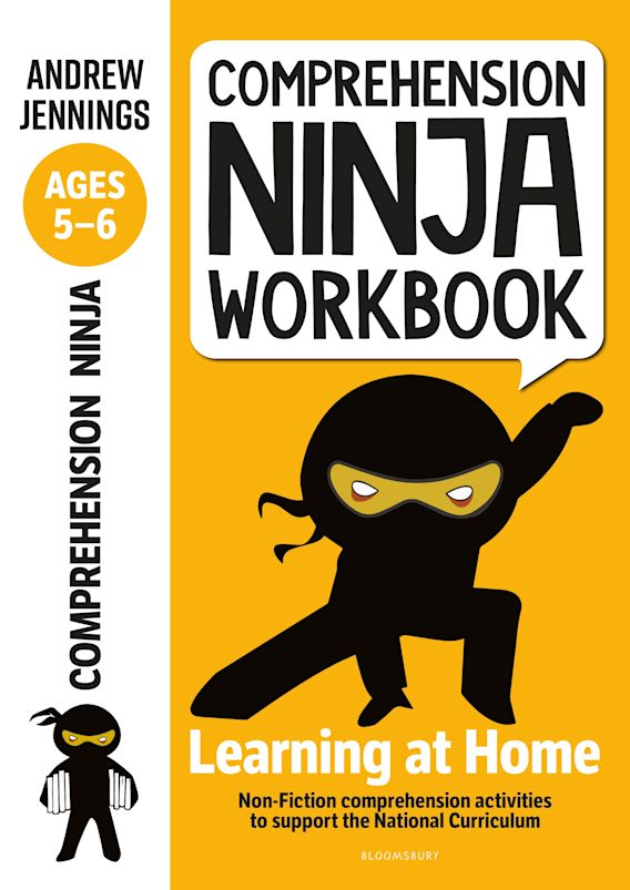 Comprehension Ninja Workbook for Ages 5-6 cover