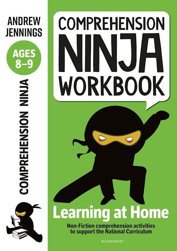 Comprehension Ninja Workbook for Ages 8-9 cover