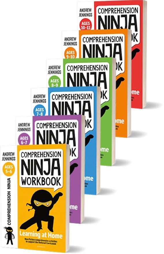 Comprehension Ninja Workbooks Full Series Pack cover