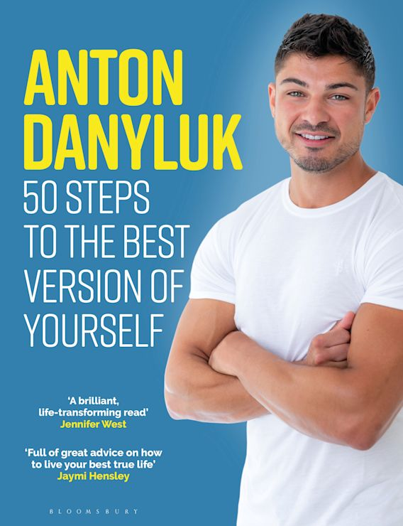 Anton Danyluk: 50 Steps to the Best Version of Yourself cover