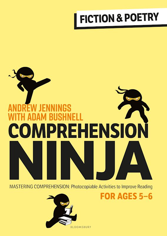 Comprehension Ninja for Ages 5-6: Fiction & Poetry cover
