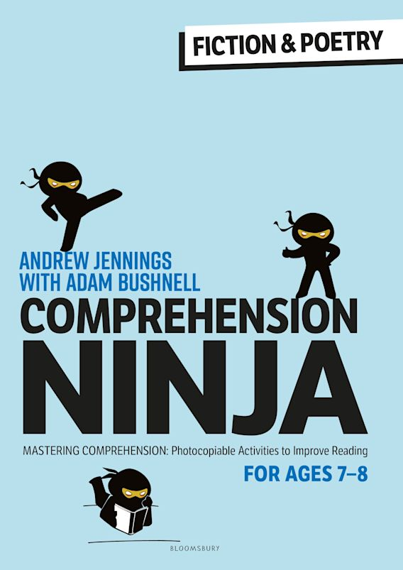 Comprehension Ninja for Ages 7-8: Fiction & Poetry cover