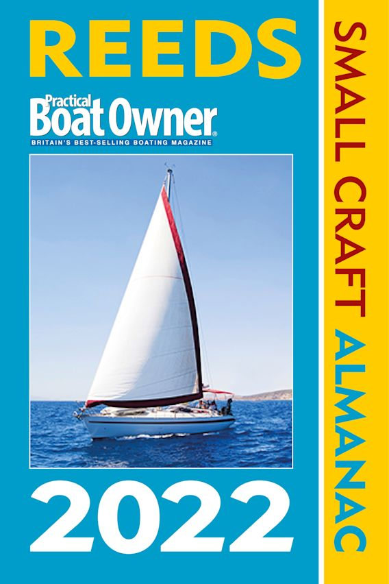 Reeds PBO Small Craft Almanac 2022 cover