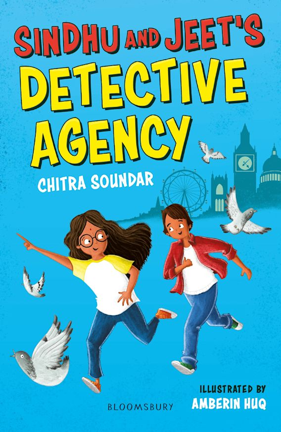 Sindhu and Jeet's Detective Agency: A Bloomsbury Reader cover