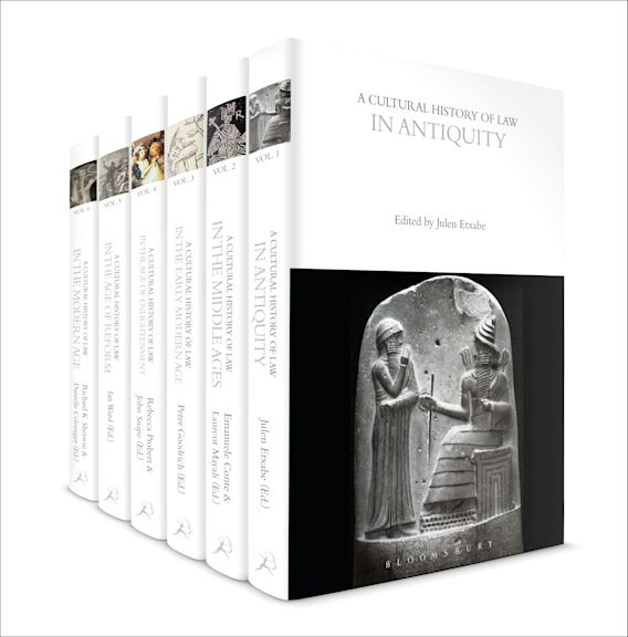 A Cultural History of Law cover