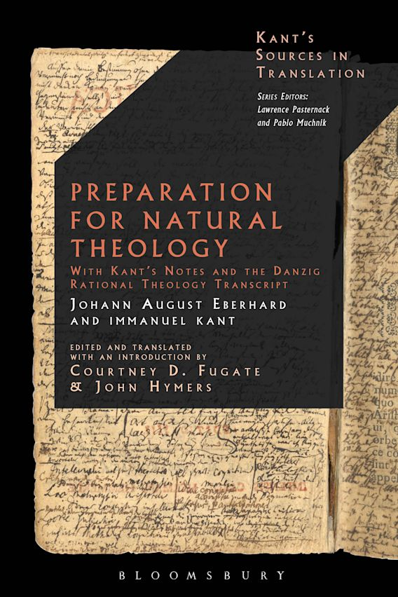 Preparation for Natural Theology cover