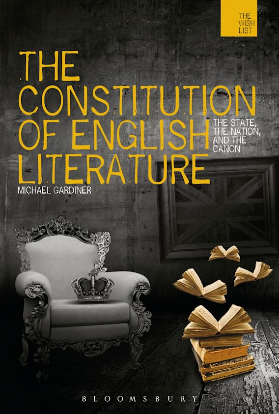 The Constitution of English Literature cover