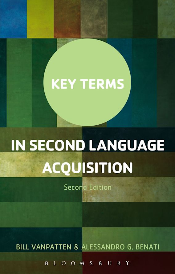 Key Terms in Second Language Acquisition cover