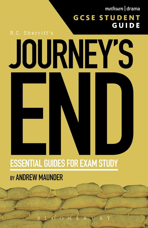 Journey's End GCSE Student Guide cover
