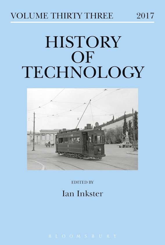 History of Technology Volume 33 cover