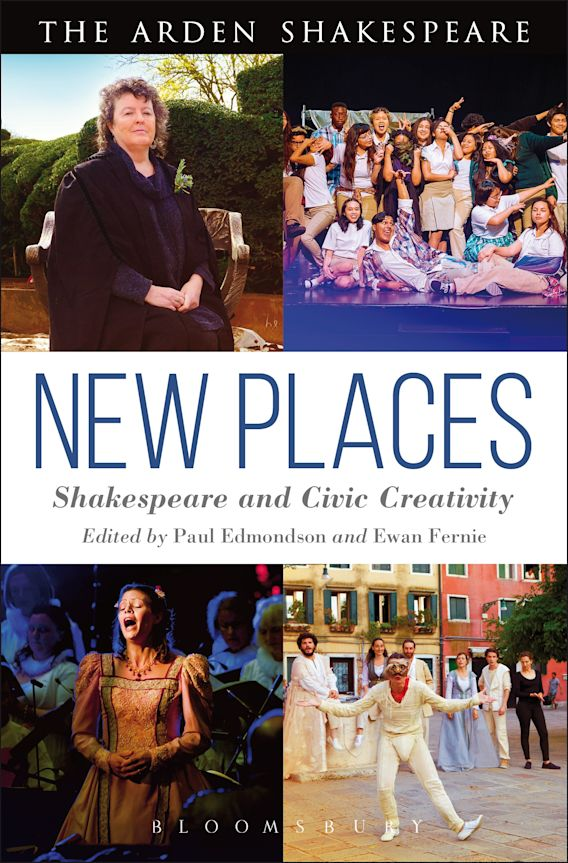 New Places: Shakespeare and Civic Creativity cover