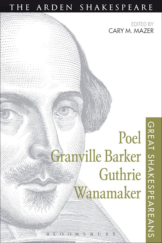 Poel, Granville Barker, Guthrie, Wanamaker cover