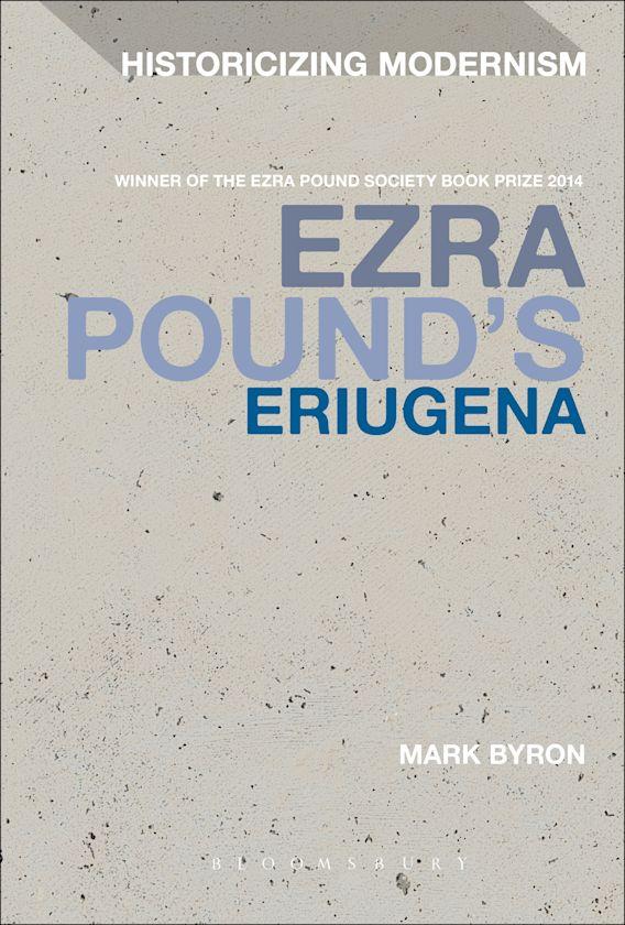 Ezra Pound's Eriugena cover