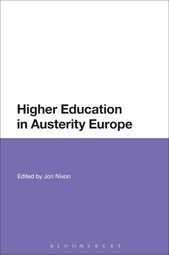Higher Education in Austerity Europe cover