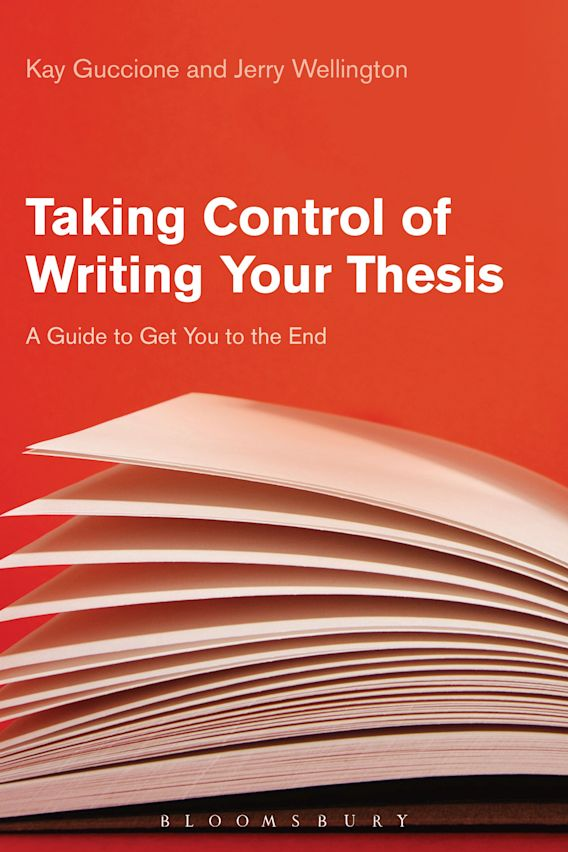 Taking Control of Writing Your Thesis cover
