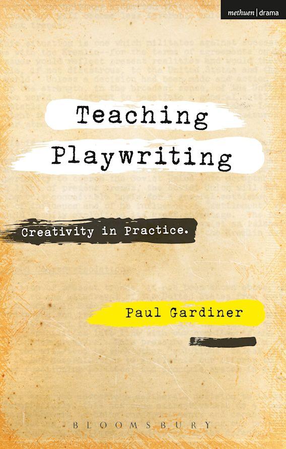 Teaching Playwriting cover