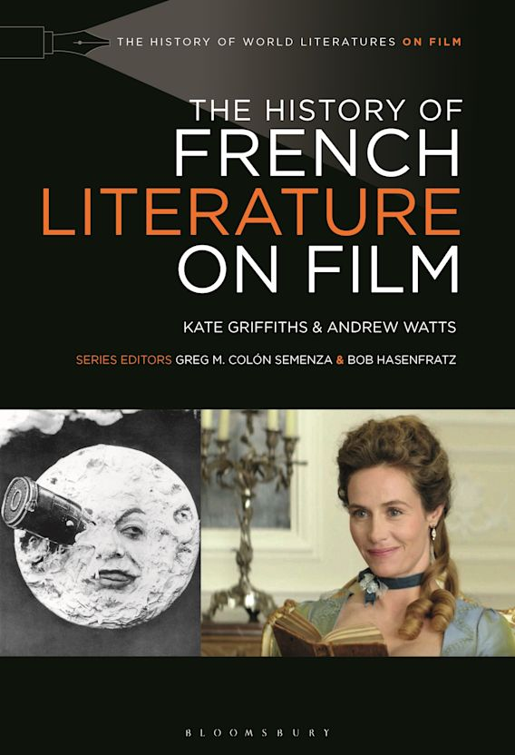 The History of French Literature on Film cover