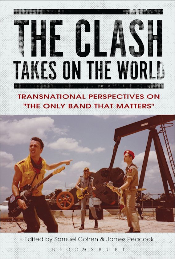 The Clash Takes on the World cover