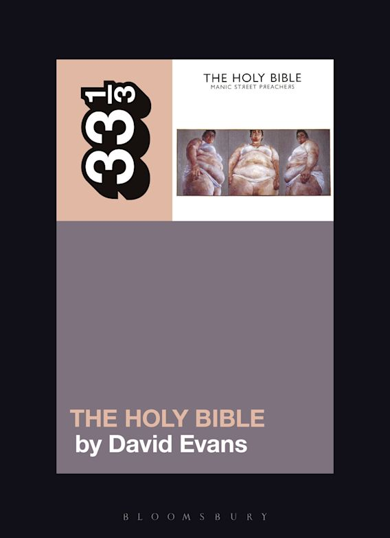 Manic Street Preachers' The Holy Bible cover